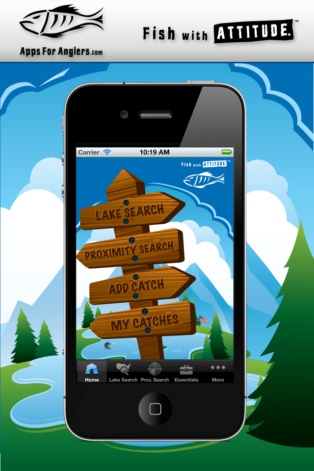 iFish Apps App Home Screen
